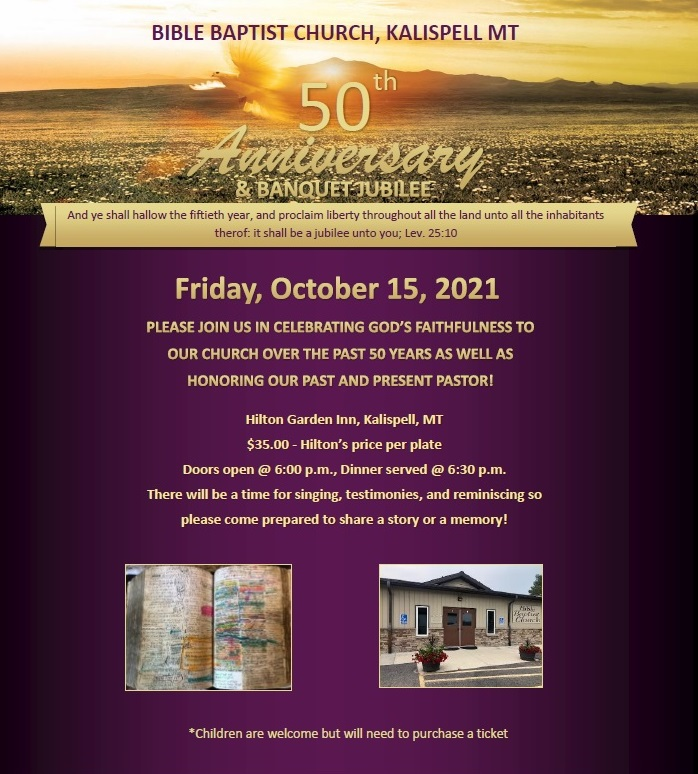 50th Anniversary Jubilee Banquet